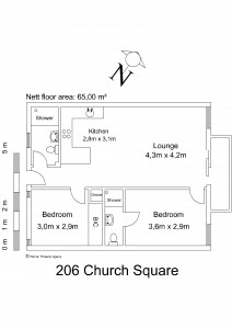 Floor plan - 206 Church Square