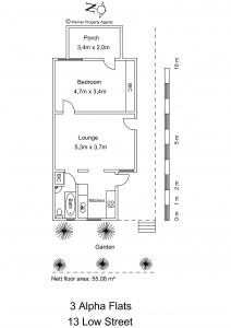 alpha flats floor plan