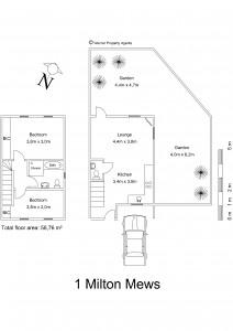 1 Milton Mews, Observatory